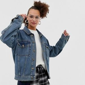 ASOS Oversized Denim Jacket